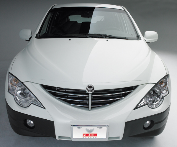 Suv White Frontview4