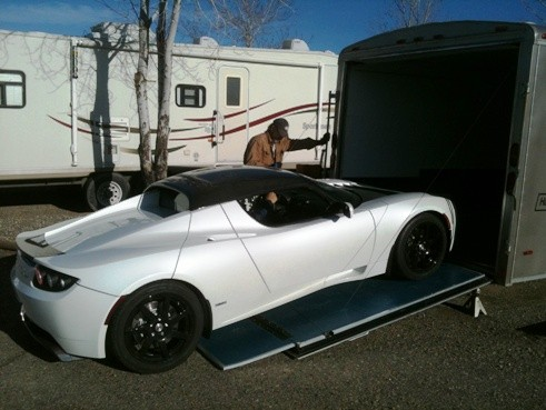 Electrovelocity Tesla Roadster