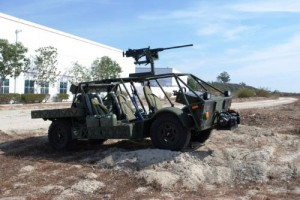 CERV US Army Electric Vehicle